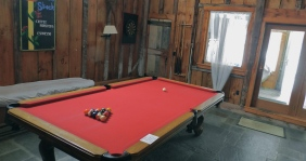 The always entertaining billiards room.